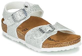 Birkenstock RIO PLAIN girls's Sandals in White