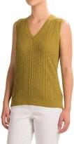 Pendleton V-Neck Sweater (For Women)