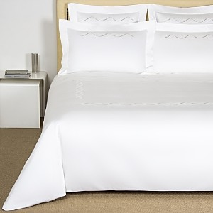 Frette Luminescent Pearls Embroidery Duvet Cover, Queen