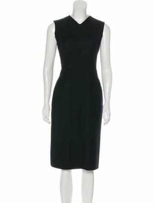 Valentino Vintage Sleeveless Dress Black