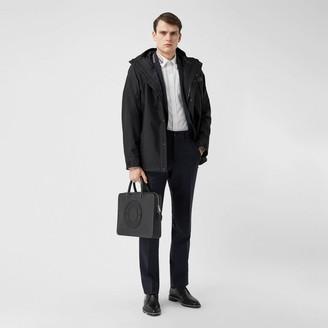 Burberry ogo Appique Nyon Hooded Jacket