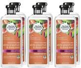 Herbal Essences Biorenew White Grapefruit & Mosa Mint Naked Volume Shampoo, 13.5 FL OZ (Pack of 6)