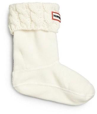 Hunter Six-Stitch Cabled Boot Socks