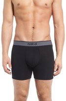 Naked Essential Stretch Cotton Boxer Briefs