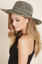 Forever 21 FOREVER 21+ Wide-Brim Floppy Straw Hat