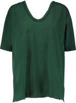 Marni Backless cotton-jersey top