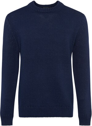 French Connection Chunky Indigo Sweater