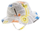 Nordstrom Infant Reversible Bucket Hat - White