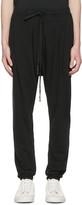 Nude:mm Black Drawstring Lounge Pants