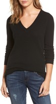 Women's Halogen V-Neck Cashmere Sweater