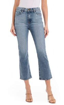 Fidelity Calypso High Waist Crop Flare Jeans