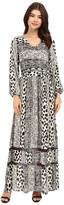 Brigitte Bailey Veronique Long Sleeve V-Neck Dress