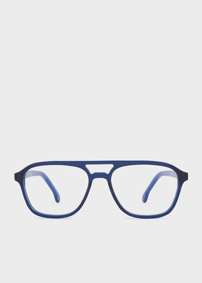 Paul Smith Deep Navy 'Alder' Spectacles