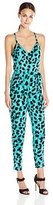 French Connection Women's Leo Leopard Jumpsuit