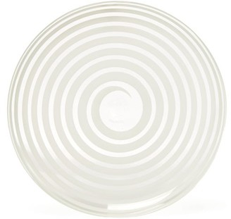Yali Glass - A Nastro Glass Side Plate - White