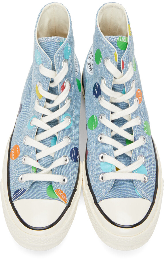 Thumbnail for your product : Converse Blue Golf Wang Edition Chuck 70 High Sneakers