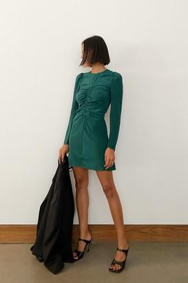 Thaakon Ruched Mini Dress