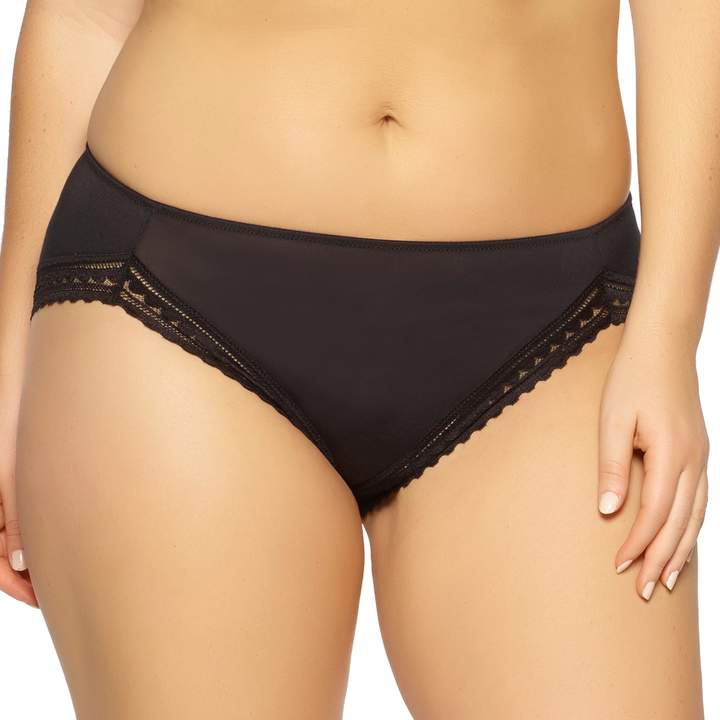 Felina Paramour By Paramour by Rubie Geometric Lace Hi-Cut Panty 675043
