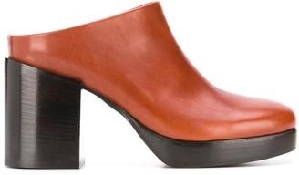 A.F.Vandevorst Slip-On Chunky Heel Mules