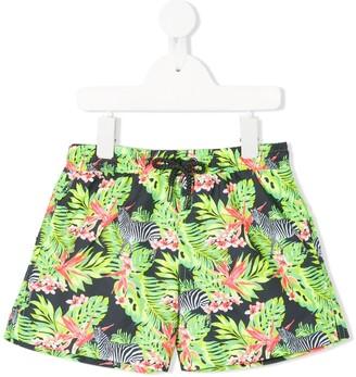 Sunuva Floral Print Swim Shorts