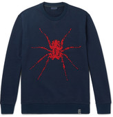Lanvin Beaded Loopback Cotton-jersey Sweatshirt