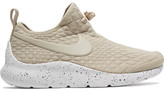 Nike Aptare Toggle-detailed Textured-knit Sneakers - Beige