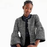 J.Crew Petite lady jacket in sequin tweed