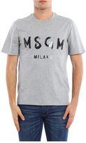 MSGM T-shirt Choker With Logo