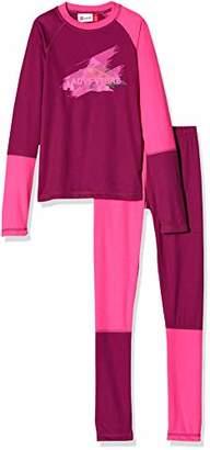 Lego Wear Girl's Unisex Lwuberto 702-Skiunterwäsche/Funktionsunterwäsche Sportswear Set