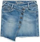 Pepe Jeans Girls Alice Fringed Skirts
