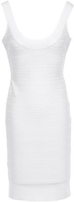 Herve Leger Open-back Bandage Dress