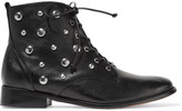 Schutz Lorn studded leather ankle boots