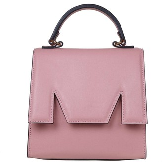 MSGM Hand Bag M Bum Bag In Pink Leather