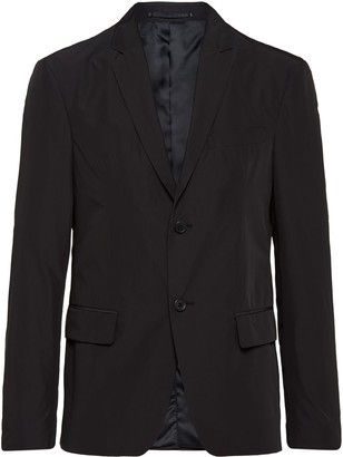 Prada single-breasted slim-fit blazer