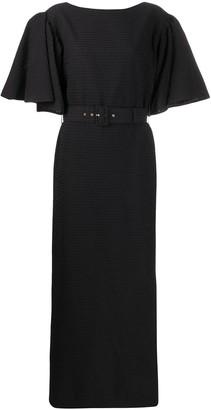 Emilia Wickstead short-sleeve maxi dress