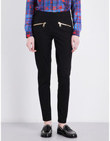 Tommy Hilfiger x Gigi Hadid skinny high-rise patent jeggings