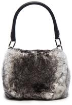 Alexander Wang Mini Rabbit Fur Rex Bag