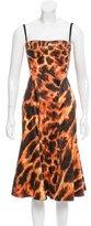 Just Cavalli Sleeveless Midi Dress