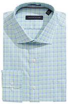 Tommy Hilfiger Regular Fit Non Iron Plaid Dress Shirt
