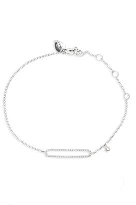 Meira T 14K Gold & Diamond Pave Bar Bracelet