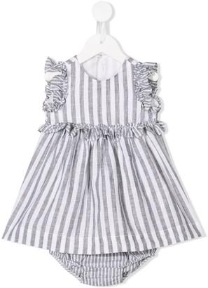 Il Gufo Striped Dress Set