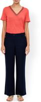 Monsoon Lola Short Linen Trouser
