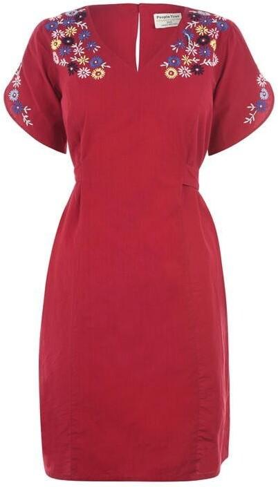People Tree Alyssa Embroidered Dress