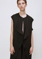 Zero Maria Cornejo black ora waistcoat