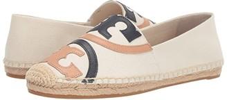 Tory Burch Poppy Espadrille Flat (Powder/Muilti) Women's Shoes