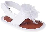 Laura Ashley White Floral Sandal