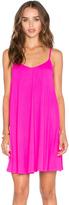 Susana Monaco Very V Drape Mini Dress