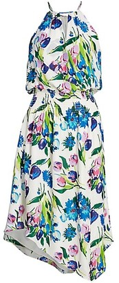 Parker Herley Floral Halter Dress