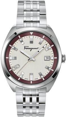Salvatore Ferragamo Men's 40mm Heritage Bracelet Watch