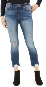 Vigoss Jeans Ripped Cropped Jeans